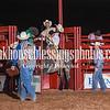 JessA&MikeH MemorialPRCA 4 20 18 SaddleBronc-9
