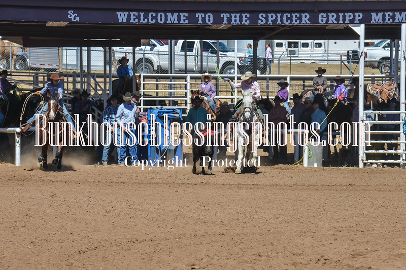 TJHRA Hereford 3 10 18 TeamRoping-1