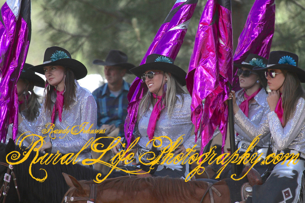 Sun Sation of Yakima drill team.