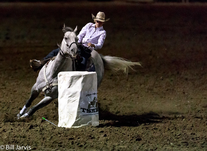 Junior Barrel Racing, Deer Lodge, Montana