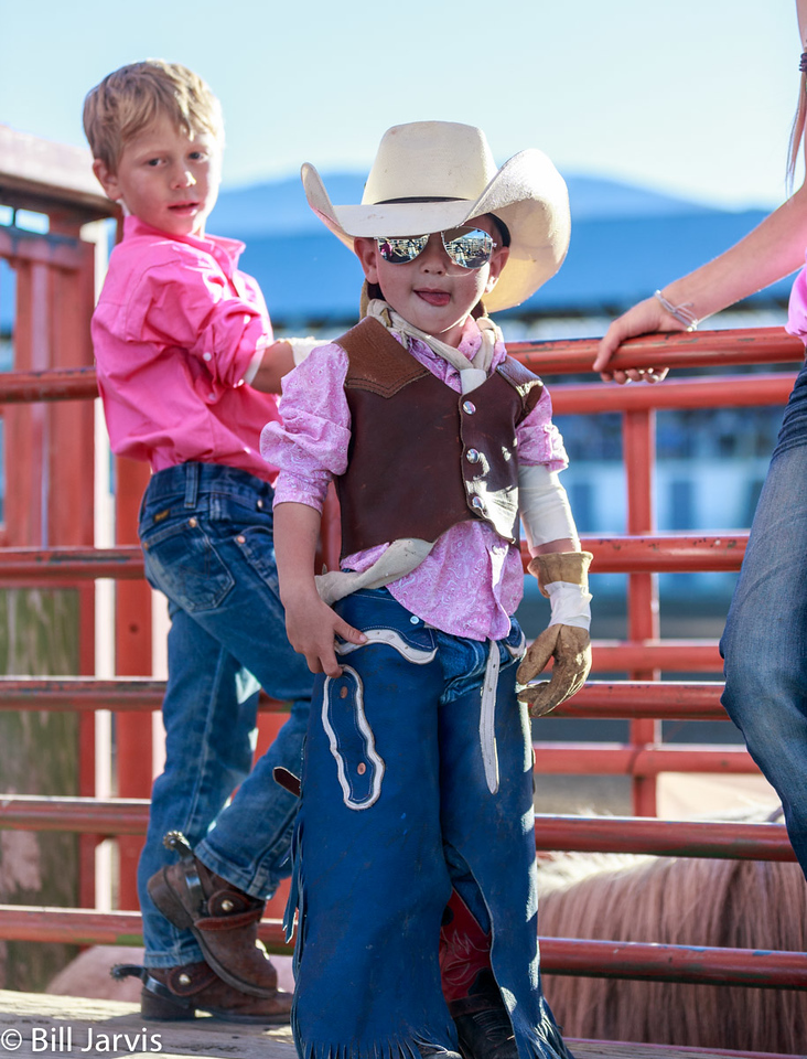 A Well Dressed Rodeo Cowboy