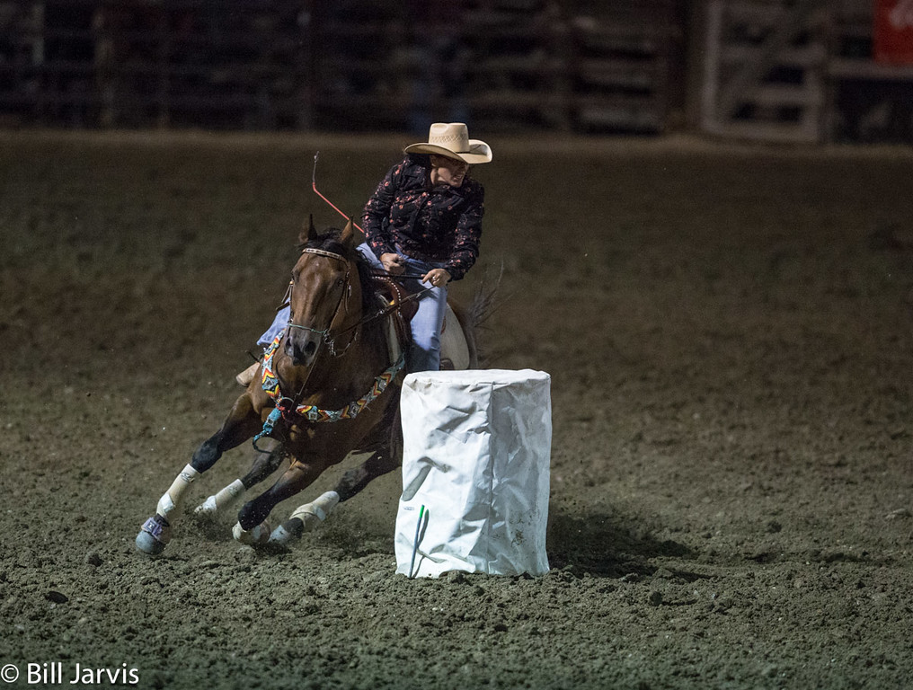 Barrel Racing, Deer Lodge, Montana