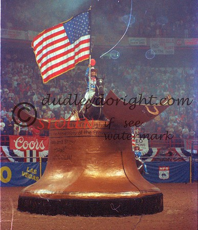 National Finals Rodeo - Las Vegas NV - Dec  1987