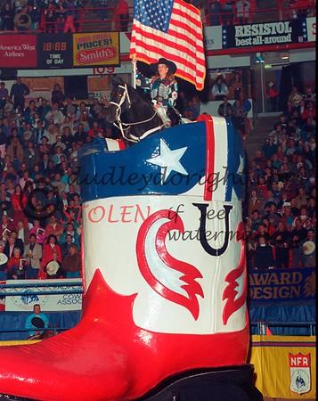 National Finals Rodeo - Las Vegas, NV - Dec, 1992