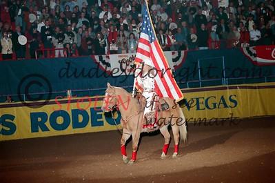 National Finals Rodeo - Las Vegas ,  NV - Dec 1996