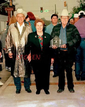 WALK of FAME - Stephenville , Texas - Nov , 1998