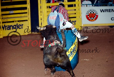 National Finals Rodeo - Las Vegas, Nv - Dec, 2000 -  Wrangler Bullfights