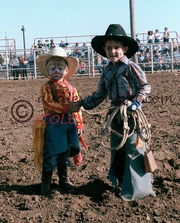 JESS  EVANS MEMORIAL Bull Riding - Alpine , Texas- 1983