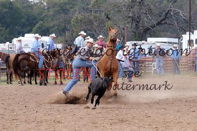 Extreme Calf Roping - Tishimingo OK - October 2008