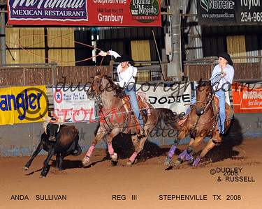 Region 3 Texas High School Rodeo - Stephenville TX - October 2008