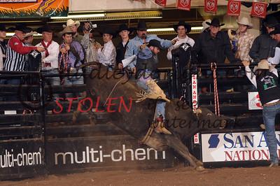 San Angelo PRCA rodeo-San Angelo, Texas-Feb, 2008