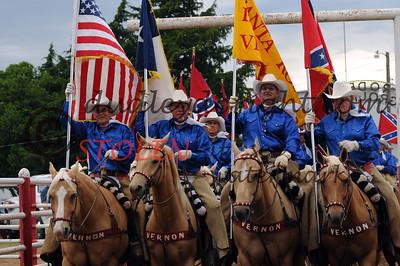 Santa Rosa Roundup PRCA Rodeo-Vernon Tx-May, 2008