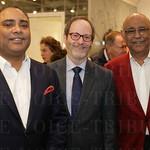 Raj Manwani, Bruce Tasch and Bhagwan Manwani.