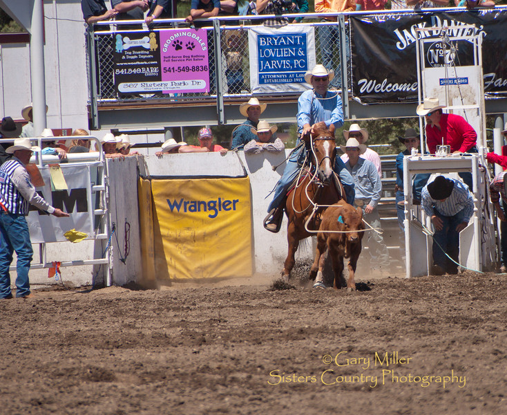 The Yellow Flag - Sisters Rodeo 2010 - Gary Miller - Sisters Country Photography