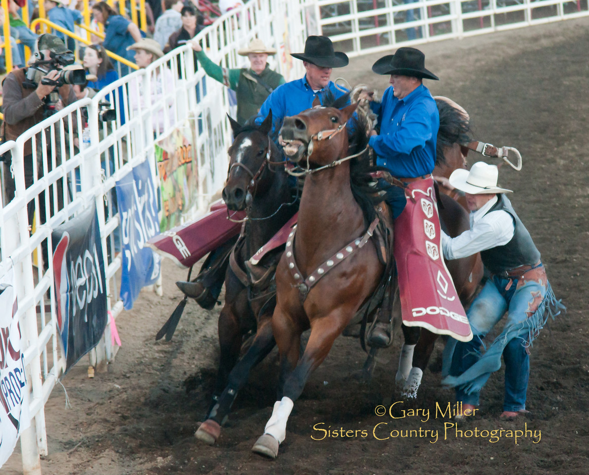 The Dodge Boys - Pickup men extrordinaire at the 2010 Sisters Rodeo. Sisters Country Photography