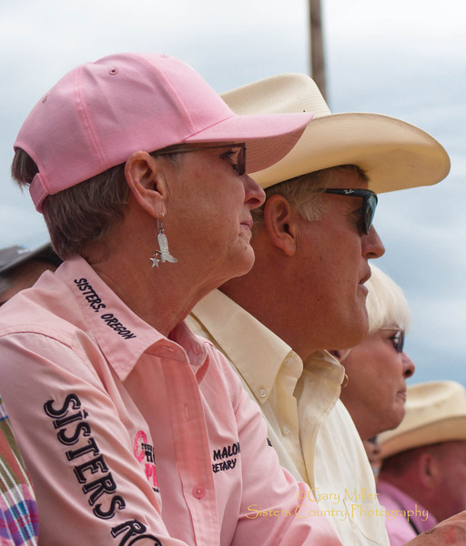 Bonnie Malone - Rodeo Director - Sisters Rodeo 2011 - Photo by Gary Miller - Sisters Country Photography