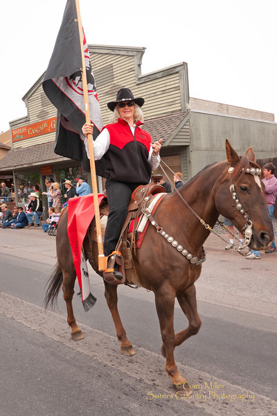 Rodeo Parade 2011 - Sisters, Oregon - Photo by Gary Miller - Sisters Country Photography
