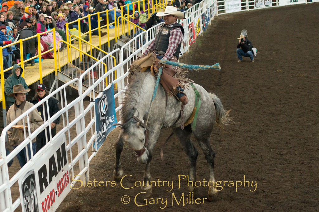 Friday Night at the 2012 Sisters Rodeo -Sisters, Oregon - Gary N. Miller - Sisters Country Photography
