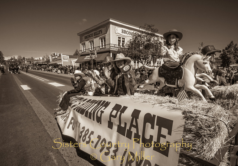 Sisters Rodeo Parade 2012 - Sisters, Oregon - Gary N. Miller - Sisters Country Photography