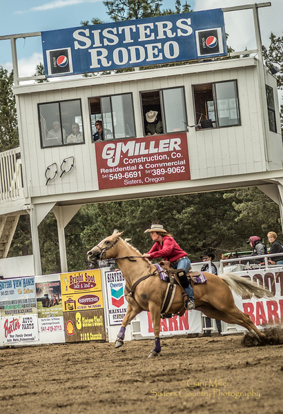 Thursday, 'slack' day at the 2012 Sisters Rodeo - Sisters, Oregon - Gary N. Miller - Sisters Country Photography