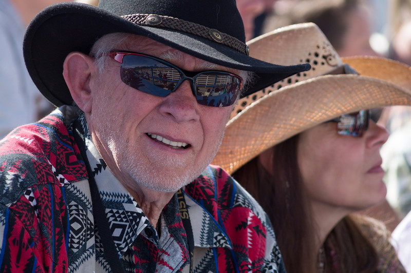 Jerry Baldock - Sunday, a picture perfect day at the 2012 Sisters Rodeo -Sisters, Oregon - Gary N. Miller - Sisters Country Photography