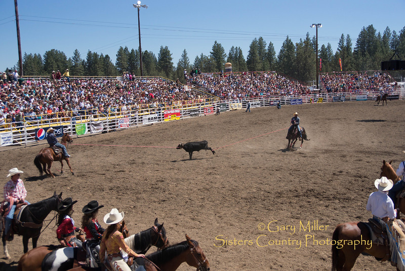 Saturday afternoon's performance of the 2013 Sisters Rodeo - Sisters, Oregon - Copyright © 2013 Gary N. Miller, Sisters Country Photography