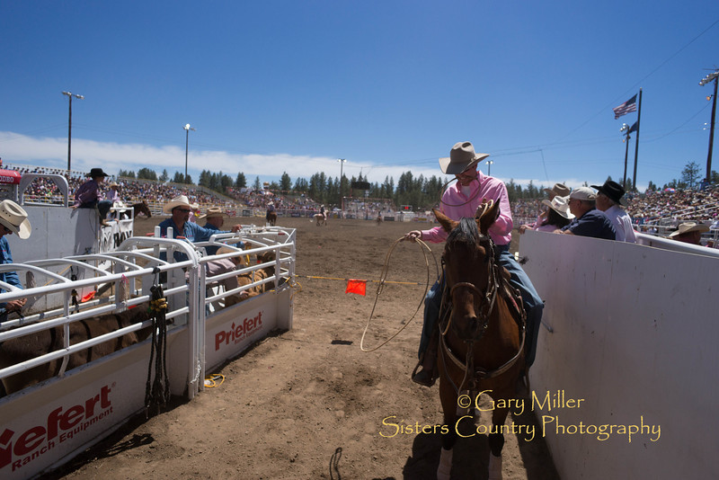 Sunday afternoon's performance of the 2013 Sisters Rodeo - Sisters, Oregon - Copyright © 2013 Gary N. Miller, Sisters Country Photography