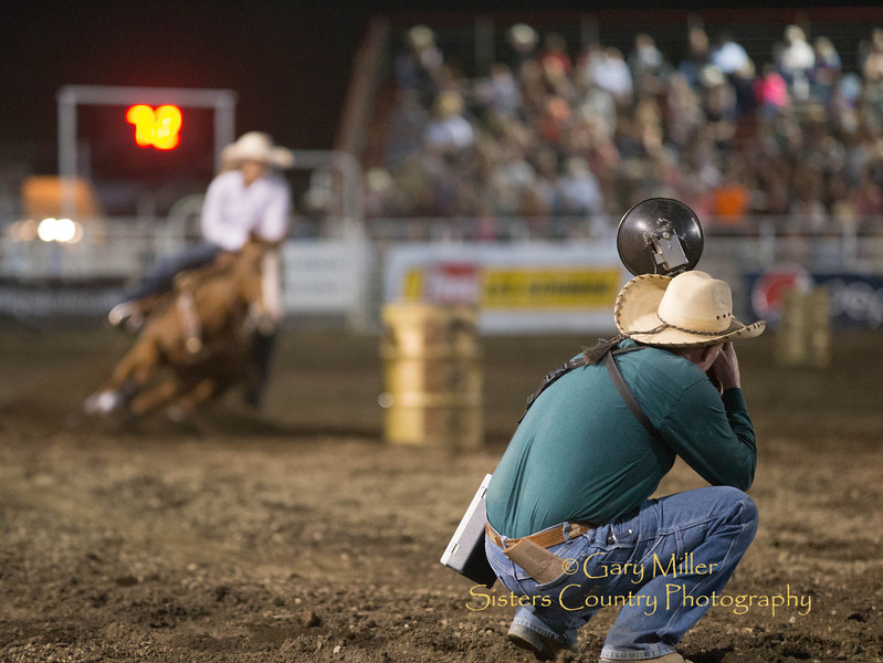 Saturday night's performance of the 2013 Sisters Rodeo - Sisters, Oregon - Copyright © 2013 Gary N. Miller, Sisters Country Photography