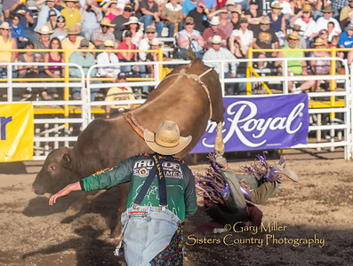 Wednesday Bull Extravaganza night at the 2013 Sisters Rodeo - Sisters, Oregon - Copyright © 2013 Gary N. Miller, Sisters Country Photography