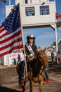 Sisters Rodeo Queen Whitney Richey - Wednesday Bull Extravaganza night at the 2013 Sisters Rodeo - Sisters, Oregon - Copyright © 2013 Gary N. Miller, Sisters Country Photography