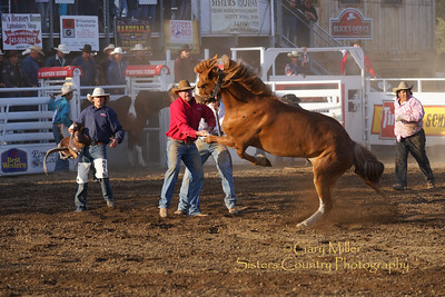 Saturday night at the 2014 Sisters Rodeo - Sisters, Oregon © 2014 Gary N. Miller, Sisters Country Photography