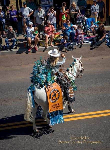 Oregon Trail Appaloosa Queen