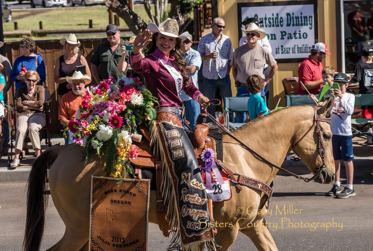 Julie Drescher, Miss Rodeo Oregon 2015