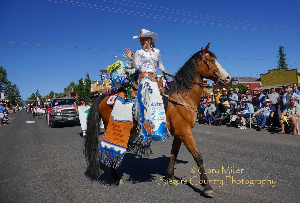 Miss Teen Rodeo Oregon 2015 - McKensie Hensen