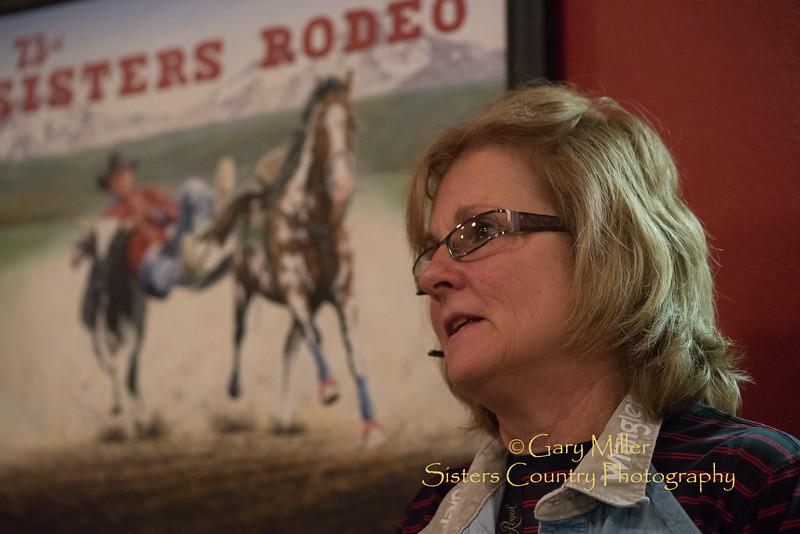 Sisters Rodeo Volunteer Meeting - January 2015  © 2015 Gary N. Miller, Sisters Country Photography