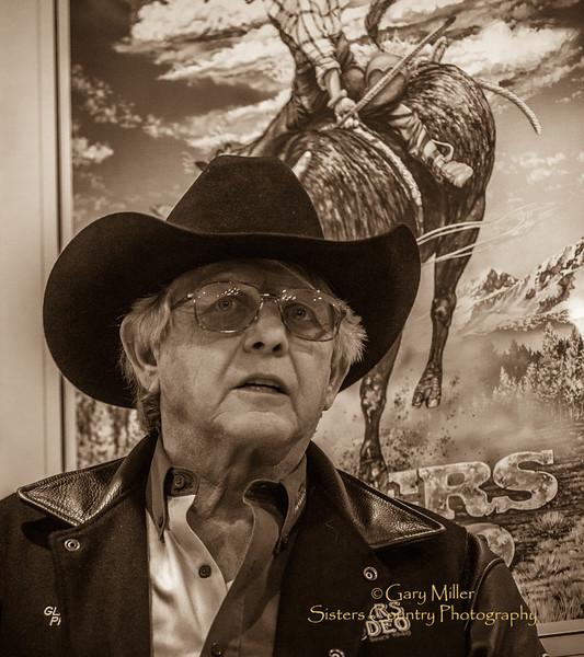 G.J. Miller - Sisters Rodeo Volunteer Meeting - January 2015  © 2015 Gary N. Miller, Sisters Country Photography
