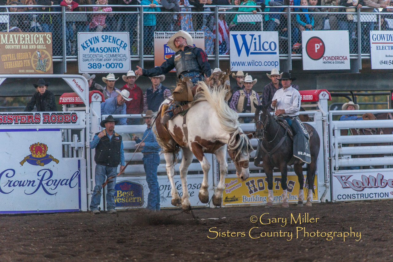 Saturday Night Performance at the 2016 Sisters Rodeo © Gary N. Miller, Sisters Country Photography