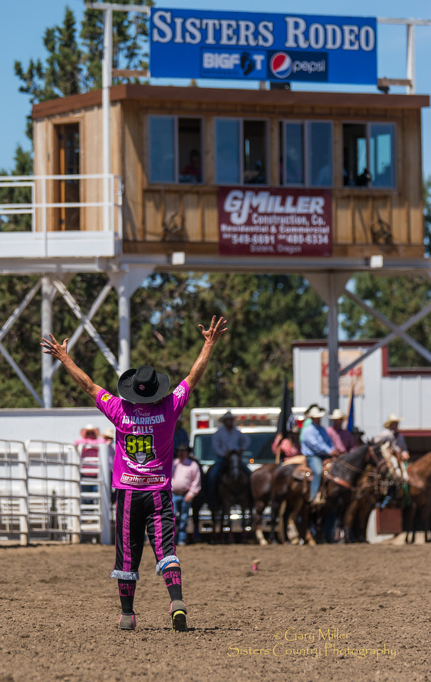 Sunday performance at the 2016 Sisters Rodeo, The Biggest Little Rodeo in the West © 2016 Gary N. Miller, Sisters Country Photography