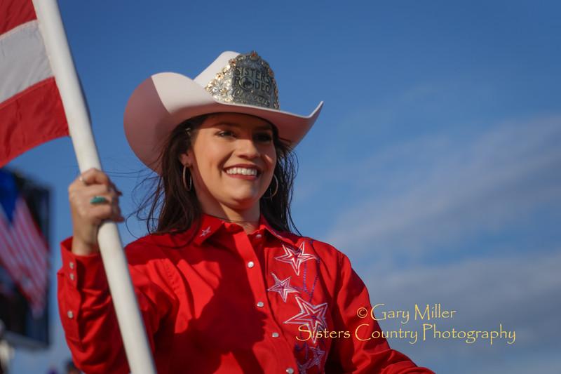 Sisters Rodeo Queen Alyson Fazzolari