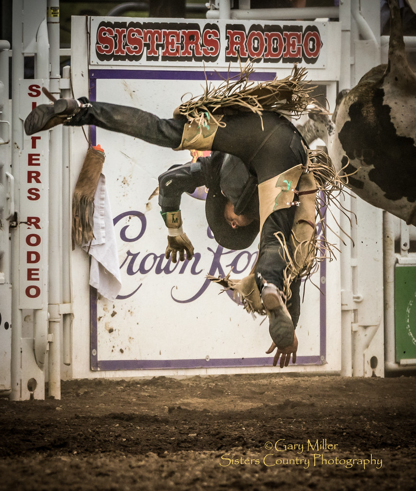 Flying in to the Sisters Rodeo