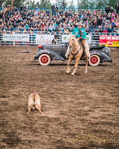 Saturday night performace of the 2017 Sisters Rodeo© 2017  Gary N. Miller, Sisters Country Photography