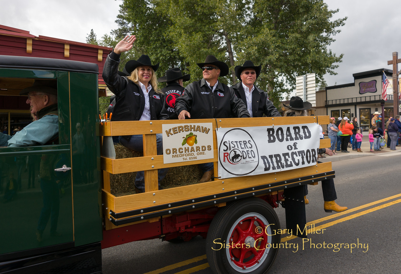The 2017 Sisters Oregon Rodeo Parade© 2017  Gary N. Miller, Sisters Country Photography