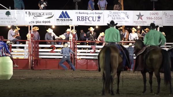 Saturday Night Bull Highlights