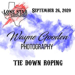 tie down roping