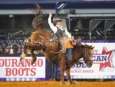 Clint Laye - Bareback Riding at The American