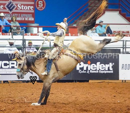 Dustin Hausauer - Saddle Bronc
