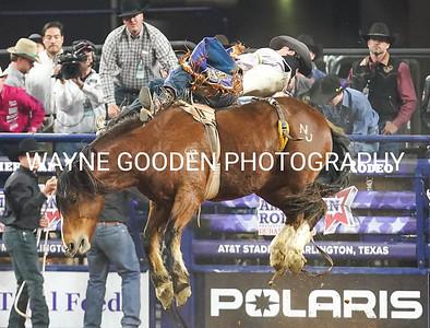 Kody Lamb - Bareback Riding American Rodeo