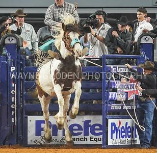 Tanner Aus - Rodeo Bareback Bronc Riding