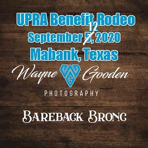 Bareback Bronc Riding - Mabank