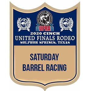 Saturday Barrel Racing